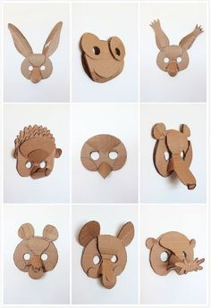 5 Creative Animal Mask Ideas by lydia