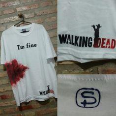 """Remera """"The Walking Dead - I'm fine"""""""