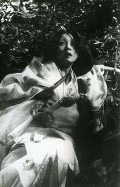 machiko kyo in akira kurosawa's 'rashomon'
