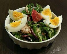 Fit sałatka z tuńczykiem i jajkiem Aga, Ramen, Chicken, Cooking, Breakfast, Ethnic Recipes, Food, Kitchen, Morning Coffee