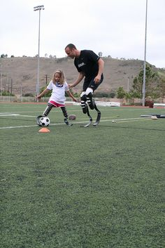 Soccer Anyone? Read about Oscar and be humbled http://www.oscarpistorius.com/ IMG_0643 by Challenged Athletes Foundation (CAF), via Flickr