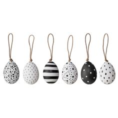 Pretty Easter ornaments <3 Design by Bloomingville