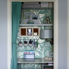 Storage Closet Office Design, Pictures, Remodel, Decor and Ideas
