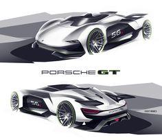 Porsche GT Vision by roobi on DeviantArt