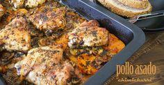 Pollo asado al Chimichurri