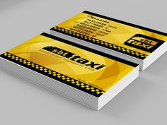Cartão de Visista e Logo TAXI on Behance Logo Taxi, Card Holder, Concept, Behance, Space, Design, Cards, Floor Space, Design Comics
