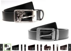 New #Deal Available - Versace Collection Men's Leather Belts @ https://igrabbedit.com/versace-collection-mens-leather-belts/