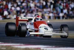 Emanuele Pirro - March 86B Cosworth - Onyx Race Engineering - I Grand Prix du Mans F3000 - 1986 FIA Formula 3000 Intercontinental Championship, round 10