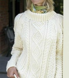 His Cableknit Pullover