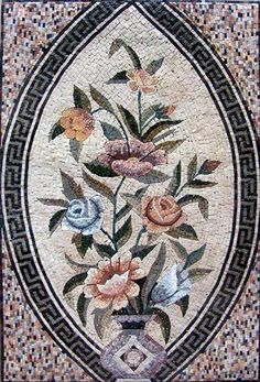 34x52 Flower Marble Mosaic Floor Wall Table Decor by mozaico. $545.00. Mosaics have endless uses and infinite possibilities! They can be used indoors or outdoors, be part of your kitchen, decorate your bathroom and the bottom of your pools, cover walls and ceilings, or serve as frames for mirrors and paintings.