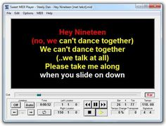Sweet MiDi Player 2.7.2 WiN TEAM DVT | 09.10.2016 | 4.1 MB Sweet MIDI Player is a program for not only auditioning all types of MIDI files, but for modify