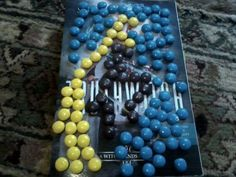 By Waterwitch Alyssa - USA cover with M&Ms!