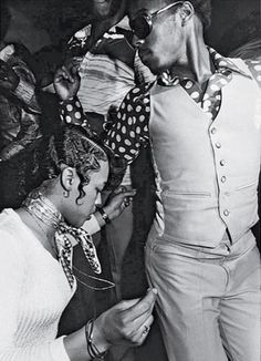 Vintage shot of a party on the South side Chicago.