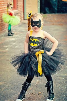 Batman girls superhero tutu dress and by SofiasCoutureDesigns, $59.00