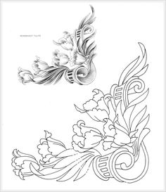 Gallery.ru / Фото #2 - Лиственный орнамент от Lora S. Irish. - Vladikana