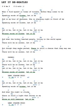 Song Lyrics And Chords, Guitar Chords For Songs, Music Chords, Ukulele Tabs, Ukulele Songs, Music Songs, Let It Be Song, Ukelele, Banjo