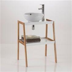 Meuble sous lavabo, 2 étagères Lidus La Redoute Interieurs - Meuble de salle de bain