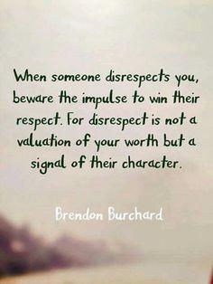 Disrespect More