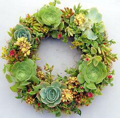 Some really cute wreath ideas