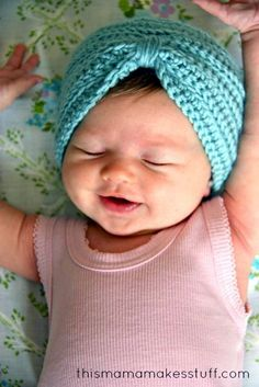 A yummy little turban perfect for our outdoor walks.