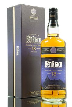 Following on from Albariza, 18 year old Dunder is part of the heavily peated range from BenRiach Distillery. The whisky has been originally matured in American oak casks, then finished in dark rum barrels, bottled at 46% vol.