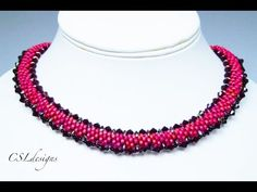 In this tutorial I show you how to make a beaded kumihimo necklace with SuperDuos. Please feel free to give it a go yourself and I hope you enjoy. This is my...