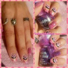 Ethnic nail art :)
