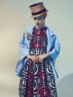 Stella Jean SS 13 | Womenswear Lookbook #StellaJean #SS13 #SpringSummer13 #EthicallyMade #EthicallyEnvisioned #EthicalFashion