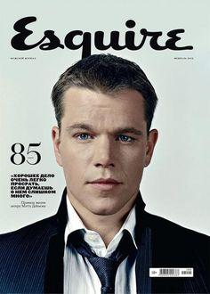 Esquire Rusia- Matt Damon-Marzo 2013