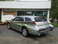 Love this Dodge Magnum wagon with some very cool custom modifications.