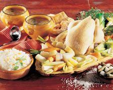 La vraie recette de la poule au pot béarnaise