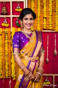 20 Best Party Makeup Looks For Sister of the Bride or Groom! 20 besten Party Make-up sucht Schwester Wedding Saree Blouse Designs, Pattu Saree Blouse Designs, Blouse Designs Silk, Saree Blouse Patterns, Indiana, Party Make-up, Simple Blouse Designs, Bride Sister, Blouse Models