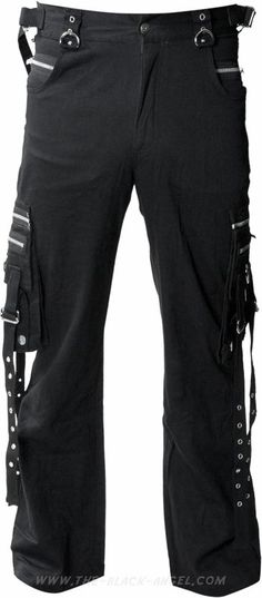 a7d34351ff Cargo style men s pants by gothic clothing brand Queen of Darkness