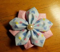 DIY Crafts : DIY make flower brooch-diy fabric jewelry