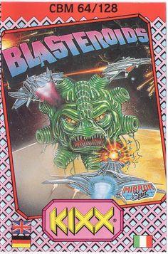 Blasteroids (C64) Kixx Budget Version