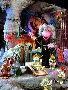 Fraggle Rock - Doozers are awesome!