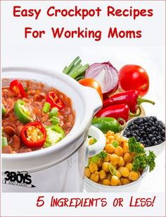 Whether you work inside the home or outside the home, chances are you are SLAMMED right now and need an easy way to get supper on the table. From making most the night before to fix it and forget it meals, these easy crock pot recipes for working moms with 5 ingredients or less will […]