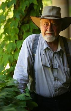 Bill Mollison...permaculture