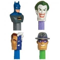 Batman Pez Characters (each sold separately)