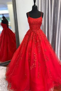 New Style Prom Dress Long, Prom Dresses, Evening Dress, Dance Dress, Graduation School Party Gown - Evening Dresses Straps Prom Dresses, Pretty Prom Dresses, Hoco Dresses, Tulle Prom Dress, Lace Dress, Dress Up, Tulle Lace, Princess Prom Dresses, Pageant Dresses