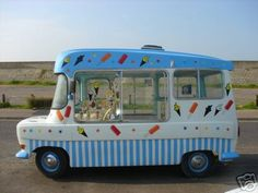 Ice Cream Van! My son wants one of these when he grows up!