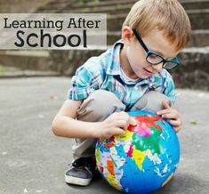 After school activities for kids. Simple, fun and DIY!