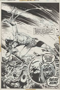 Joe Kubert's Tarzan of the Apes: Artist's Edition preview page 2