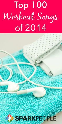 The 100 Best Workout Songs of 2014 -- awesome playlist ideas! | via @SparkPeople