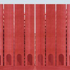 Porta Termini: A House for Fourteen Thousand Pilgrims by Philip Turner