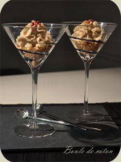 Chantilly de foie gras sur lit croustillant