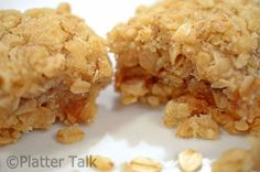 Oatmeal and Apple Butter Bars - Platter Talk