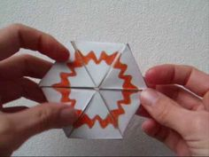Papercraft - flexagon - heptahexaflexagon - dutchpapergirl, My Crafts and DIY Projects
