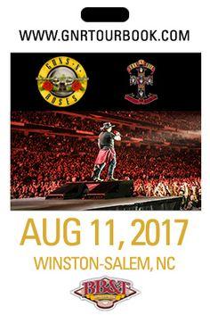 Guns n' Roses Tour Map