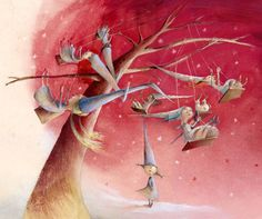Eva Montanari, Wiches and Fairies